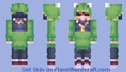 frog hat Minecraft Skin