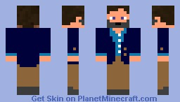 Formal Person Minecraft Skin