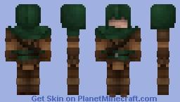 Masked Rogue Minecraft Skin
