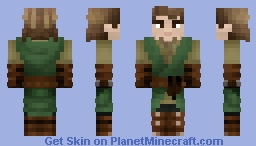 A Simple Man Minecraft Skin