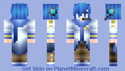 ☆Foru☆ Shion Kaito Minecraft Skin