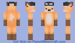 Fox in a cap Minecraft Skin