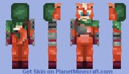 Fox Assassin Minecraft Skin