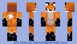 Foxman Minecraft Skin
