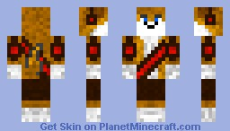 fox XP Minecraft Skin