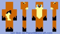 Foxy! Minecraft Skin
