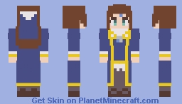 Phryne - Fractale Minecraft Skin