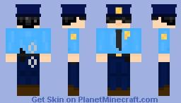 Fran Police Minecraft Skin