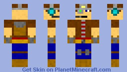 A guy named Ed Minecraft Skin