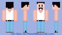 Freddie Mercury - Live Aid Minecraft Skin
