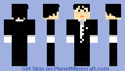 "Freddie Mercury ""I'm Going Slightly Mad"" (1991) Minecraft Skin"