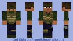 Freedom Fighter 2 Minecraft Skin