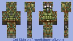 Stalker: Freedom Soldier Hooded Minecraft Skin