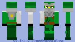 LEGO Ninjago: Hero Lloyd (Season 13) Minecraft Skin