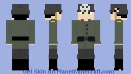 German freikorps Minecraft Skin