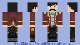 French Pirate Minecraft Skin