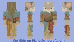 Fretting Paprika Minecraft Skin