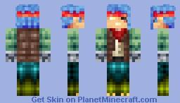 Scarlaximili Lanikosyt - Frankenstein Skin Project #3 Minecraft Skin