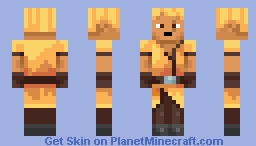 Fuego from Minecraft dungeons Minecraft Skin