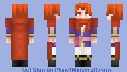 Fuegoleon Vermillion - Black Clover Minecraft Skin