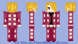 My Story is to end on my own Hands ~ Fugo Pannacotta Minecraft Skin