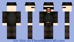 minefurie white Minecraft Skin