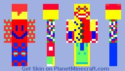 Funky The Clown Minecraft Skin