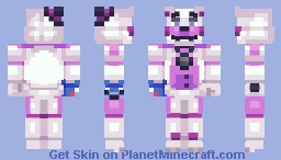 Funtime Freddy - FNaF: Sister Location Minecraft Skin