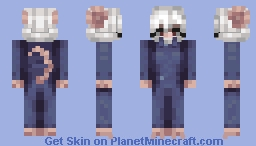 Tired mouse factory worker Minecraft Skin
