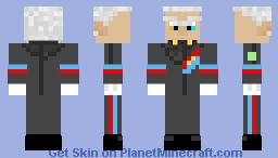 G.U.N. Commander/Abraham Tower Minecraft Skin