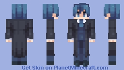"""""""Now, let the trial begin."""" Minecraft Skin"""