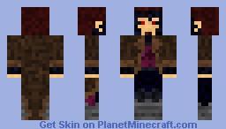 Gambit Minecraft Skin