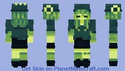 - [ Retro Gameboy Themed Girl ] - Minecraft Skin