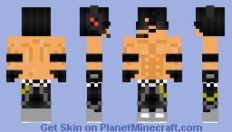 AVxNation Muscles Minecraft Skin