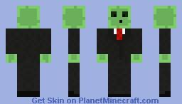 Gangster Slime Minecraft Skin