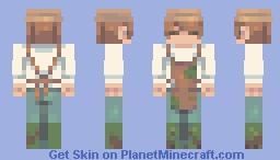 Gardener of Eden Minecraft Skin