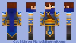 Garen, League of Legends Minecraft Skin