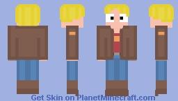 Gary Goodspeed - Final Space (Civilian Clothing) Minecraft Skin