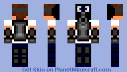 gas mask Minecraft Skin