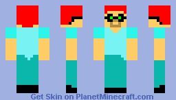geeky steve Minecraft Skin