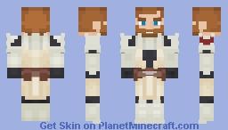 Obi-Wan Kenobi | Clone Wars Armor Minecraft Skin