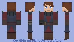 Anakin Skywalker | Clone Wars Armor Minecraft Skin