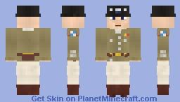 General George S. Patton Minecraft Skin