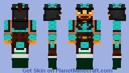 Ghengis Khan Minecraft Skin