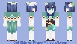 genshin impact ~ venti Minecraft Skin