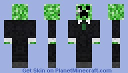 Gentlecreeper Minecraft Skin