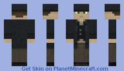 British Gentleman Minecraft Skin