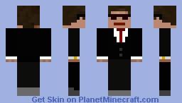 Gentleman Steve Minecraft Skin
