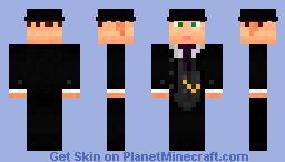 Dapper Gentleman Minecraft Skin