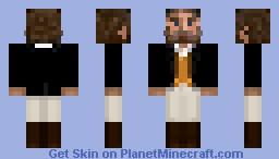 Victorian Riding Gentleman - Old Minecraft Skin